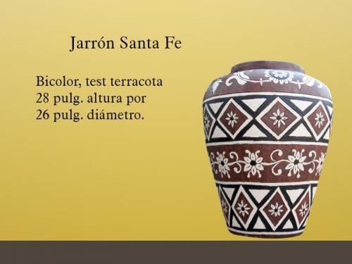 jarrn decorativo modelo santa fe