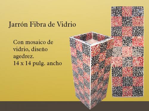 Jarrones de fibra de vidrio (Muebles y Decoración), en Guadalajara