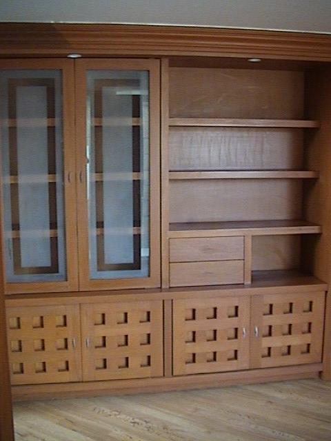 Librero y muebles de madera en guadalajara jalisco Disenos modernos con elementos de madera