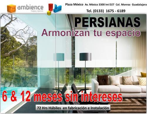 Cortinas persianas toldos para jardin terrazas balcones en for Persianas para balcones