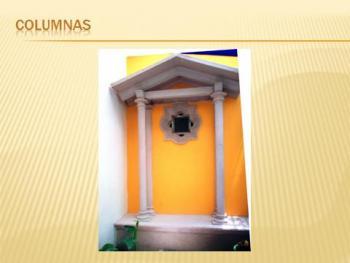 Columnas de poliestireno en pabellon de arteaga - Columnas decorativas interiores ...