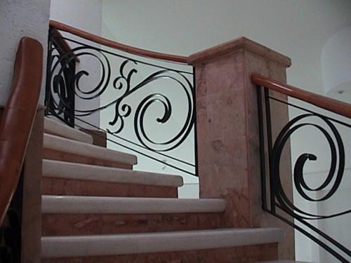 Escaleras en guadalajara jalisco m xico expo virtual - Pasamanos de madera modernos ...